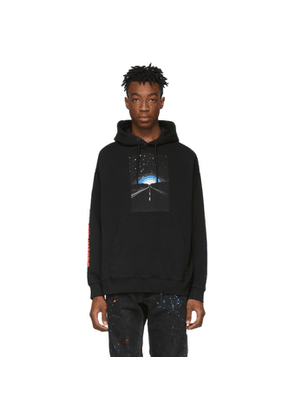 Marcelo Burlon County of Milan Black Close Encounters Of The Third Kind Edition Highway Hoodie
