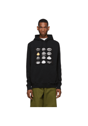Marcelo Burlon County of Milan Black Close Encounters Of The Third Kind Edition Spaceships Hoodie