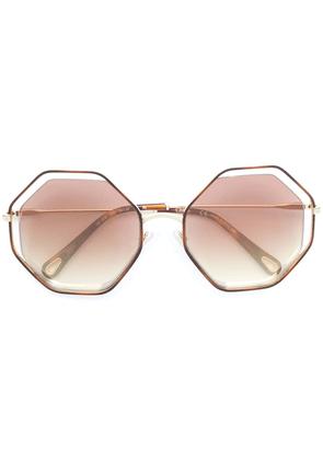 Chloé Eyewear Poppy sunglasses - Metallic
