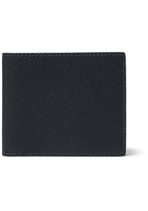 Anderson's - Full-grain Leather Billfold Wallet - Navy