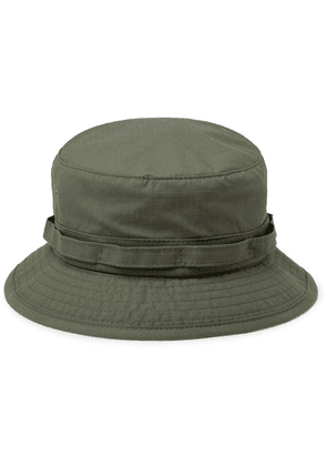 Beams Plus - Cotton-blend Ripstop Bucket Hat - Green