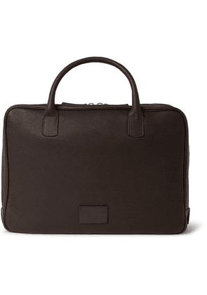 Anderson's - Full-grain Leather Briefcase - Brown