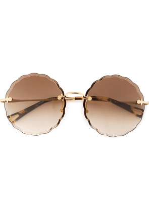 Chloé Eyewear Rosie sunglasses - Metallic