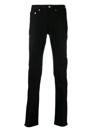 PS Paul Smith straight-leg mid-rise jeans - Black