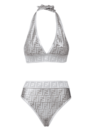 Fendi Fendi Prints On monogram bikini - SILVER