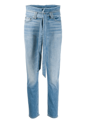 7 For All Mankind high-waisted jeans - Blue