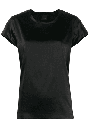 Pinko Farsia satin T-shirt - Black