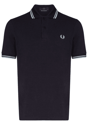 Fred Perry Twin tipped logo polo shirt - Blue