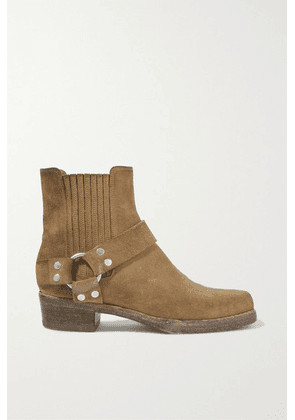 RE/DONE - Calvary Suede Ankle Boots - Tan