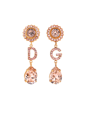 DG pendant clip-on earrings