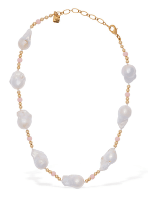 Domitilla Baroque Pearl Short Necklace