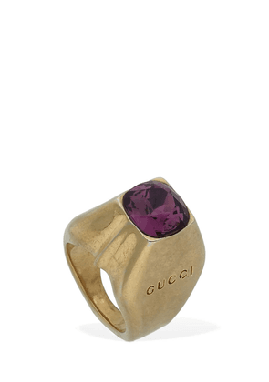 Studs Motif Thick Pinky Ring