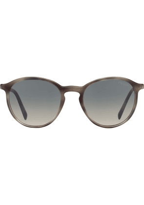 Prada round-frame sunglasses - Brown