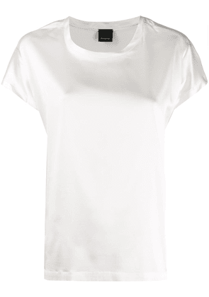 Pinko satin finish blouse - White