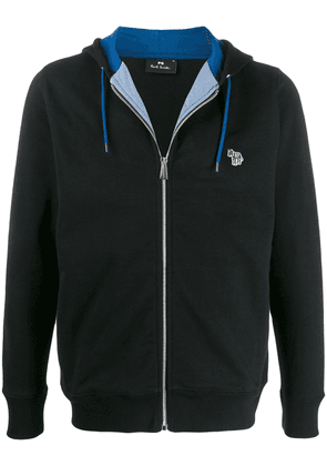 PS Paul Smith embroidered logo hoodie - Black