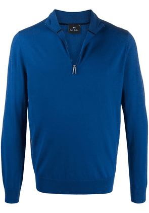 PS Paul Smith half-zip jumper - Blue