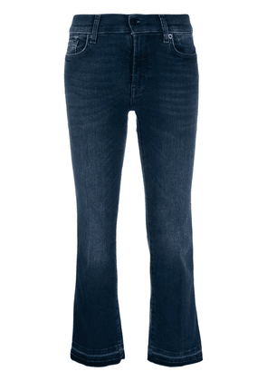7 For All Mankind Illusion Integrity cropped jeans - Blue
