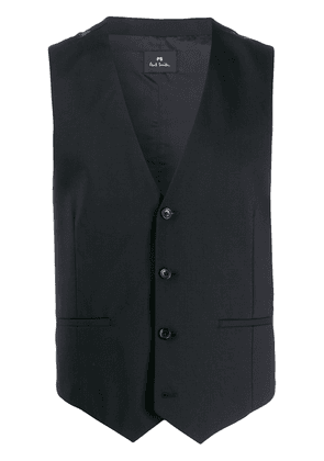 PS Paul Smith single breasted waistcoat - Black