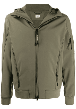 CP Company lens-detail zip-up jacket - Green