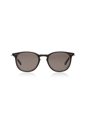 Mr. Leight Coopers S 46 Matte Acetate Round-Frame Sunglasses