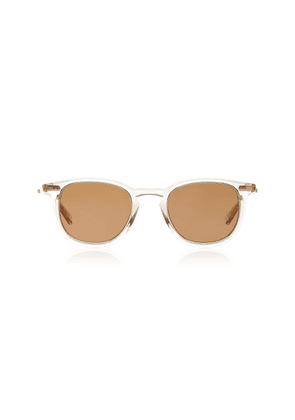 Mr. Leight Coopers S 46 Clear Acetate Round-Frame Sunglasses