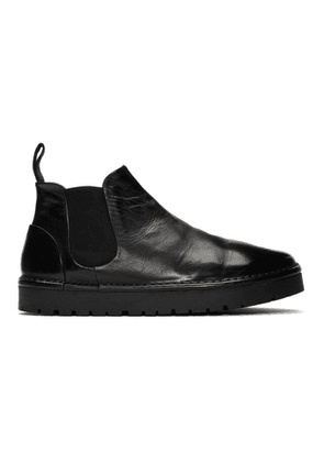 Marsell Black Gomme Sancrispa Alta Beatles Chelsea Boots