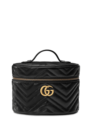 Gg Marmont 2.0 Leather Make-up Bag