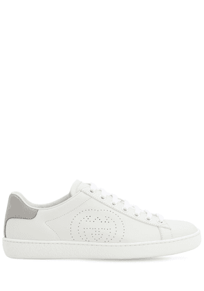 10mm New Ace Leather Sneakers
