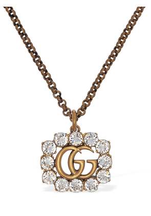 Gg Marmont Crystal Necklace