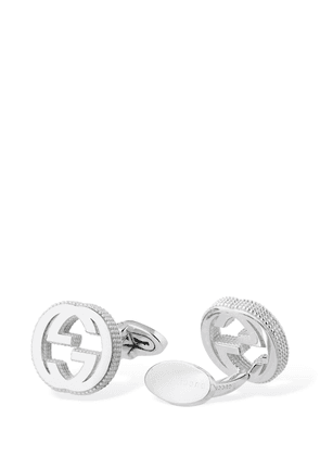Interlocking G Cufflinks