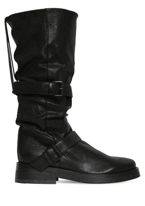 40mm Leather Boots