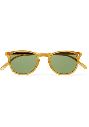 Garrett Leight California Optical - Kinney 47 Square-frame Acetate Sunglasses - Yellow