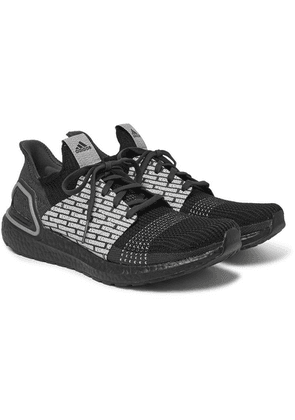adidas Consortium - + Neighborhood Ultraboost 19 Rubber-trimmed Primeknit Sneakers - Black