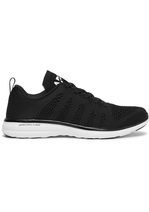 APL Athletic Propulsion Labs - Techloom Pro Running Sneakers - Black