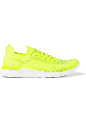 APL Athletic Propulsion Labs - Techloom Breeze Running Sneakers - Yellow