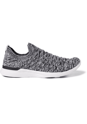 APL Athletic Propulsion Labs - Techloom Wave Running Sneakers - Gray