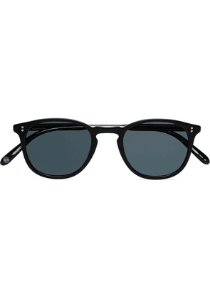 Garrett Leight California Optical - Kinney 47 Square-frame Acetate Sunglasses - Gray