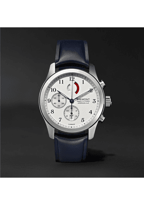 Bremont - America's Cup Regatta Chronograph 43mm Stainless Steel And Rubber Watch, Ref. No. Ac-r/ss - Silver