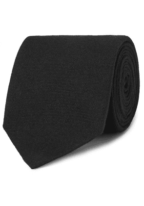 Dunhill - 8cm Cashmere And Mulberry Silk-blend Twill Tie - Black