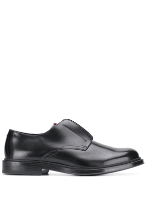 Bally elasticated panel loafers - Black