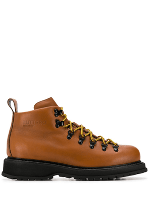 Buttero lace-up ankle boots - Brown