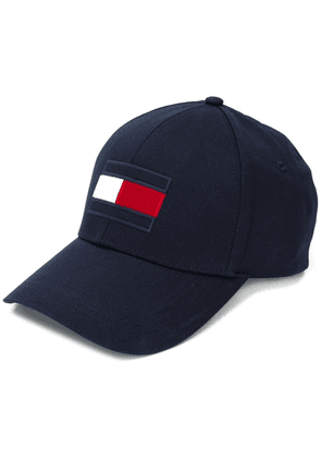 Tommy Hilfiger logo embroidered cap - Blue