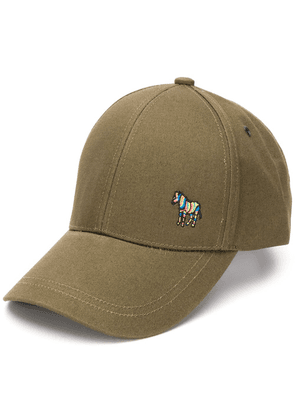 PS Paul Smith zebra logo baseball cap - Green