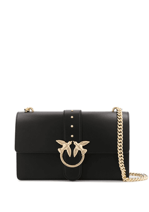 Pinko Love stud-embellished crossbody bag - Black