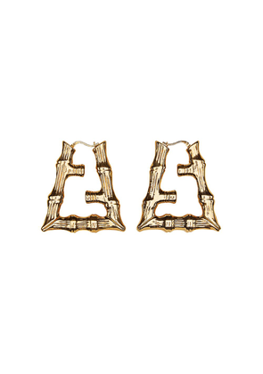 Fendi Fendi Prints On motif earrings - GOLD