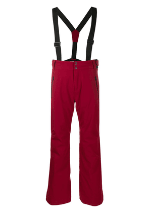 Rossignol Course braces ski trousers - Red