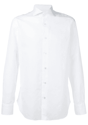 Barba classic longsleeved shirt - White