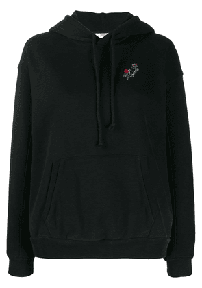 Levi's floral embroidered hoodie - Black