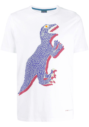 PS Paul Smith Dino print T-shirt - White