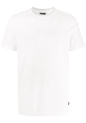 PS Paul Smith stripe collar T-shirt - White